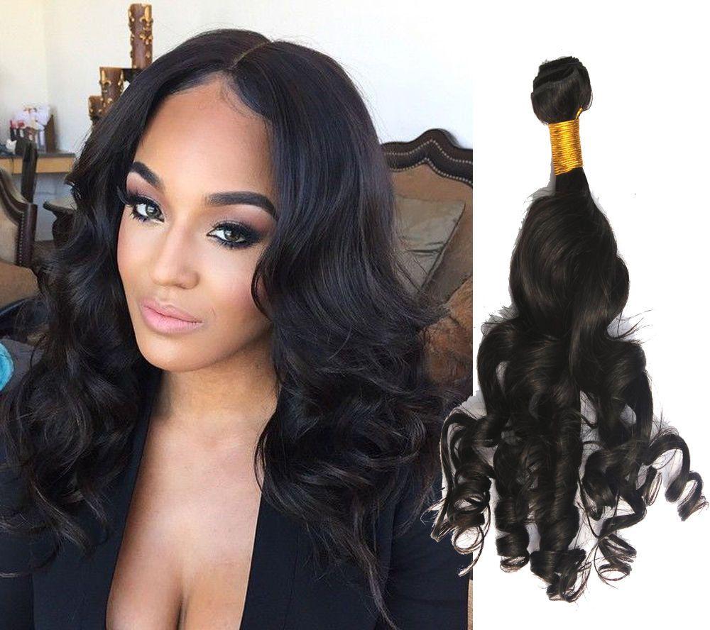 Details Zu Stylish Human Hair Extension 50gpcs Black Romance