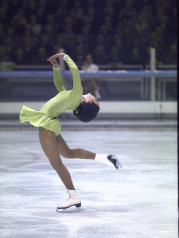 Peggy Fleming 1968 Gold Medalist