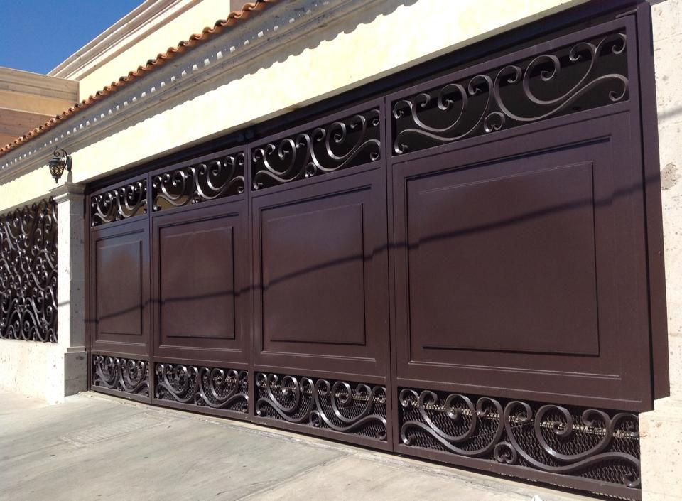 Tendencias en puertas de herreria 41 garage doors - Puertas para garage ...