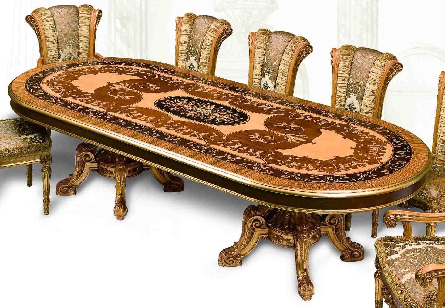 11 Luxury Dining Furniture Exquisite Empire Style Set