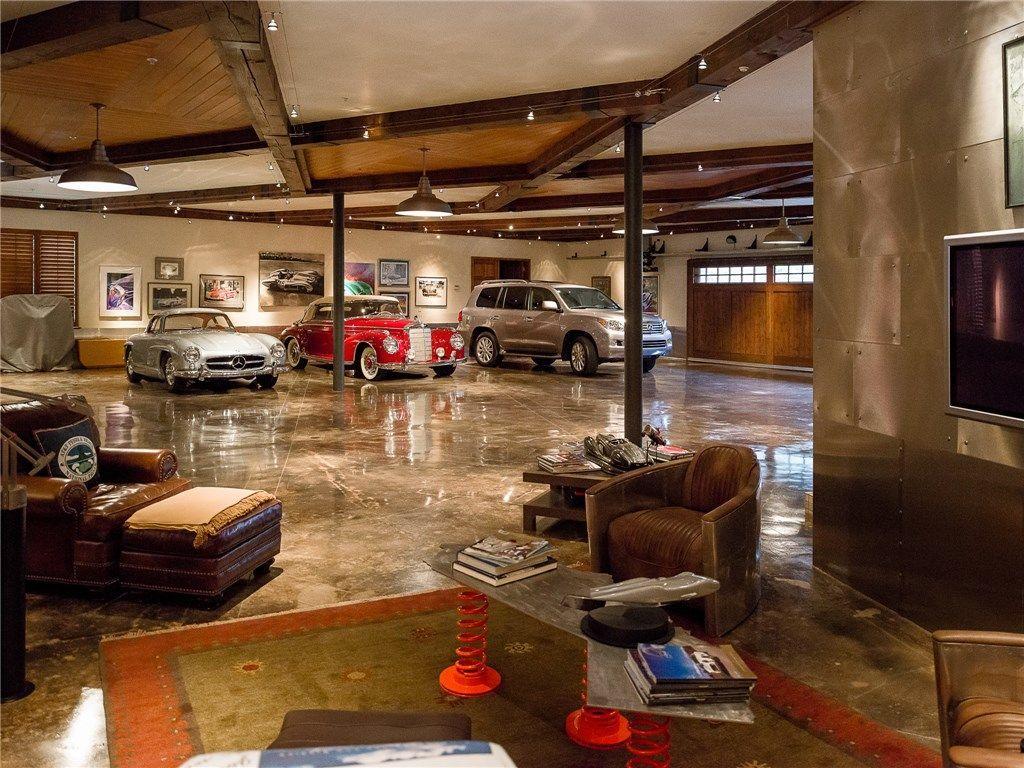 Luxury Man Cave / Garage :: Dallas, Texas #luxurygarages ...