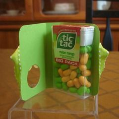 Easter tic tac holder easter pinterest easter food gifts and unique food gifts tic tac holder tutorial these extra cute tic tac holders are sooo simple to make negle Gallery