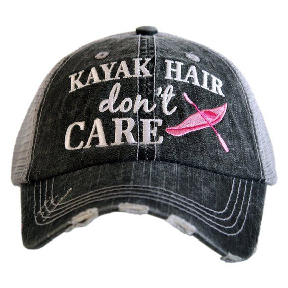 Photo of Free Shipping – Kayak Hair don't Care Women's Trucker Hat – KDC-TC-227