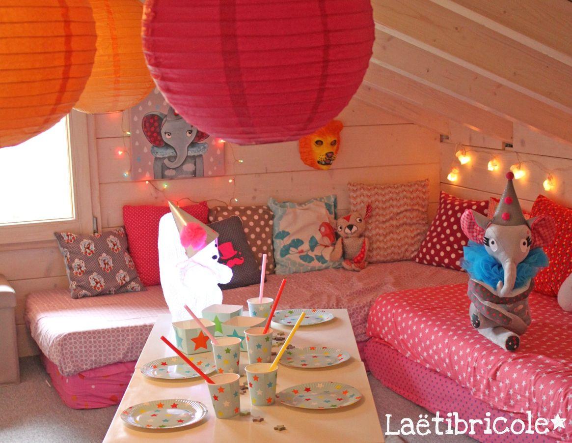 Noa...10 ans * - laetibricole | Deco chambre, Décoration salle anniversaire, Salle de jeux enfants