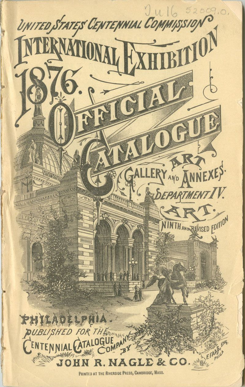 United States Centennial Commission. International Exhibition 1876,  Official Catalogue, Part II. Philadelphia: John R. Nagle & Co., 1876.