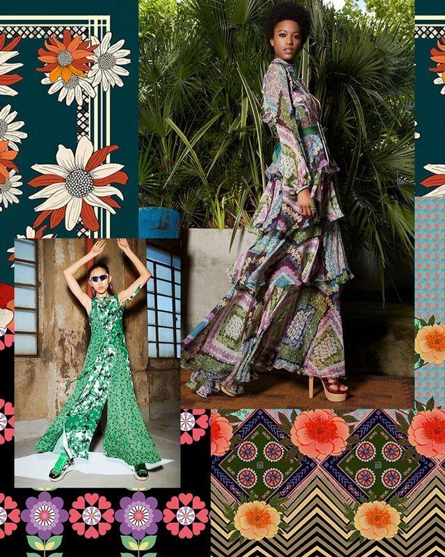 Herbst / Winter 2020/21 Print & Pattern Trend – Organisierte Florals   – Trends/ Pattern/ Colour