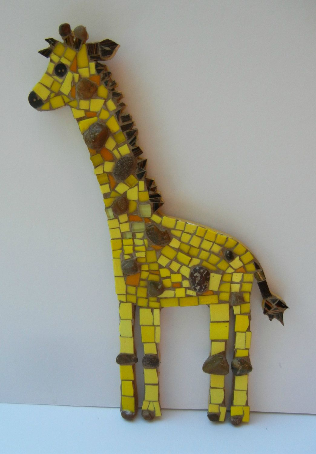 Giraffe nursery art, safari nursery decor, jungle nursery, Yellow ...