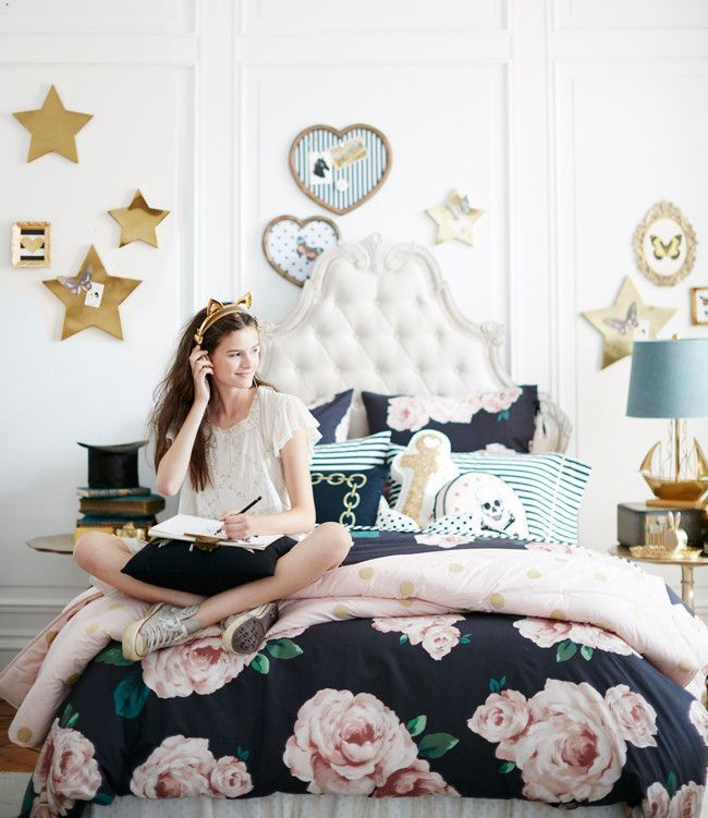 Habitaciones juveniles para chicas con mucho estilo