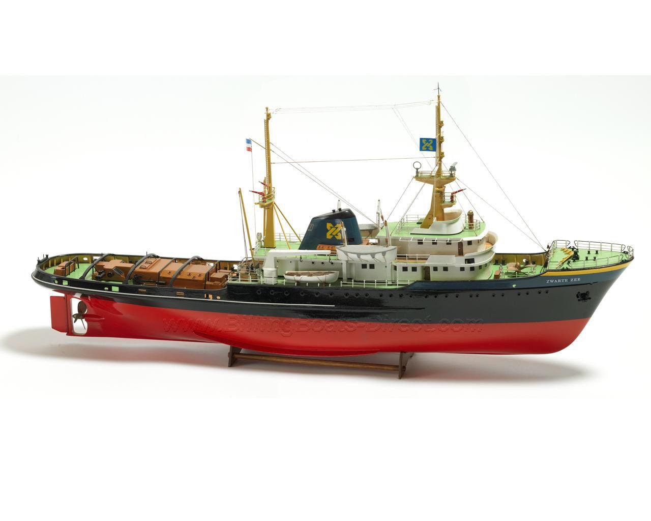 Billing Boats (B592) Zwarte Zee Tug - Model Boat & Fittings, Probably the Best Static and Radio ...