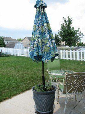 heavy duty patio umbrellas ideas on