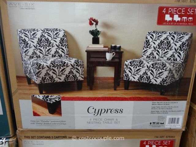 For Your Living Room Ave Six Cypress Chair And Table Set Costco 2