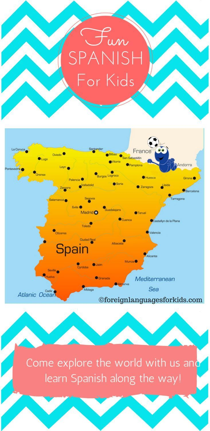 Fun Spanish For Kids Learn World Geography As You Learn Spanish - Learn world geography