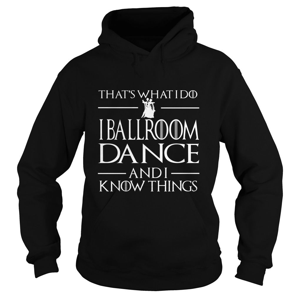 i ballroom dance and i know things