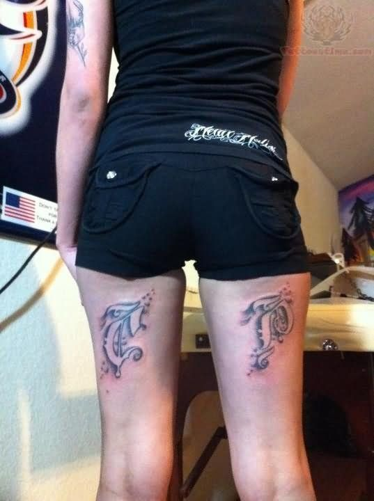 Girl Back Thigh Tattoos Back Legs Tattoo For Girls Back Of Lower