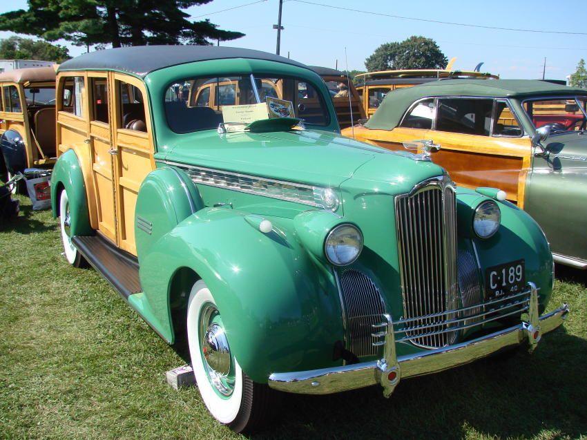 1940 Packard Woodie Wagon at classic car show | Packard | Pinterest ...