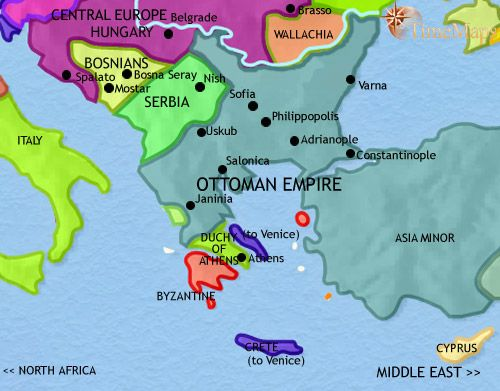 History map of greece and the balkans 1453ad civilizacin history map of greece and the balkans 1453ad gumiabroncs Images
