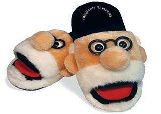 Freudian slippers.
