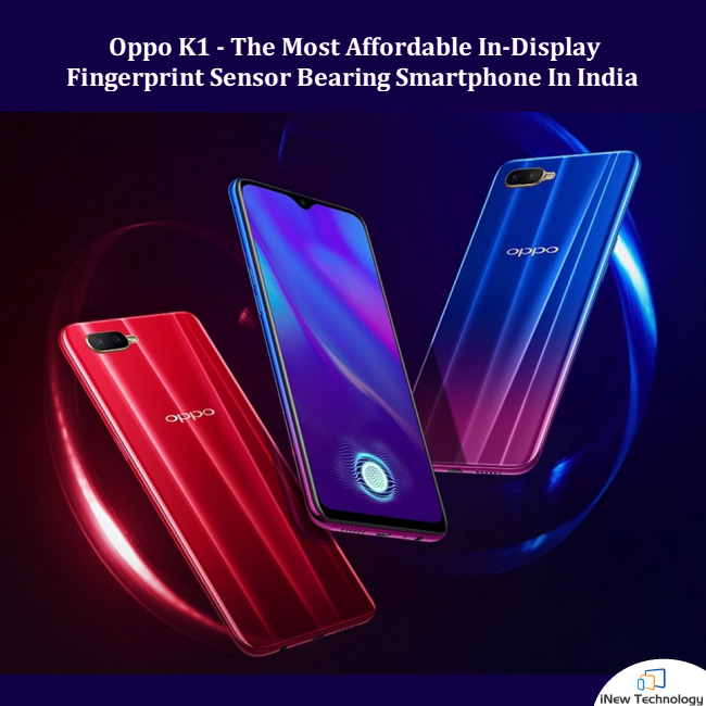 OPPO K1 goes on sale for the first time in India via