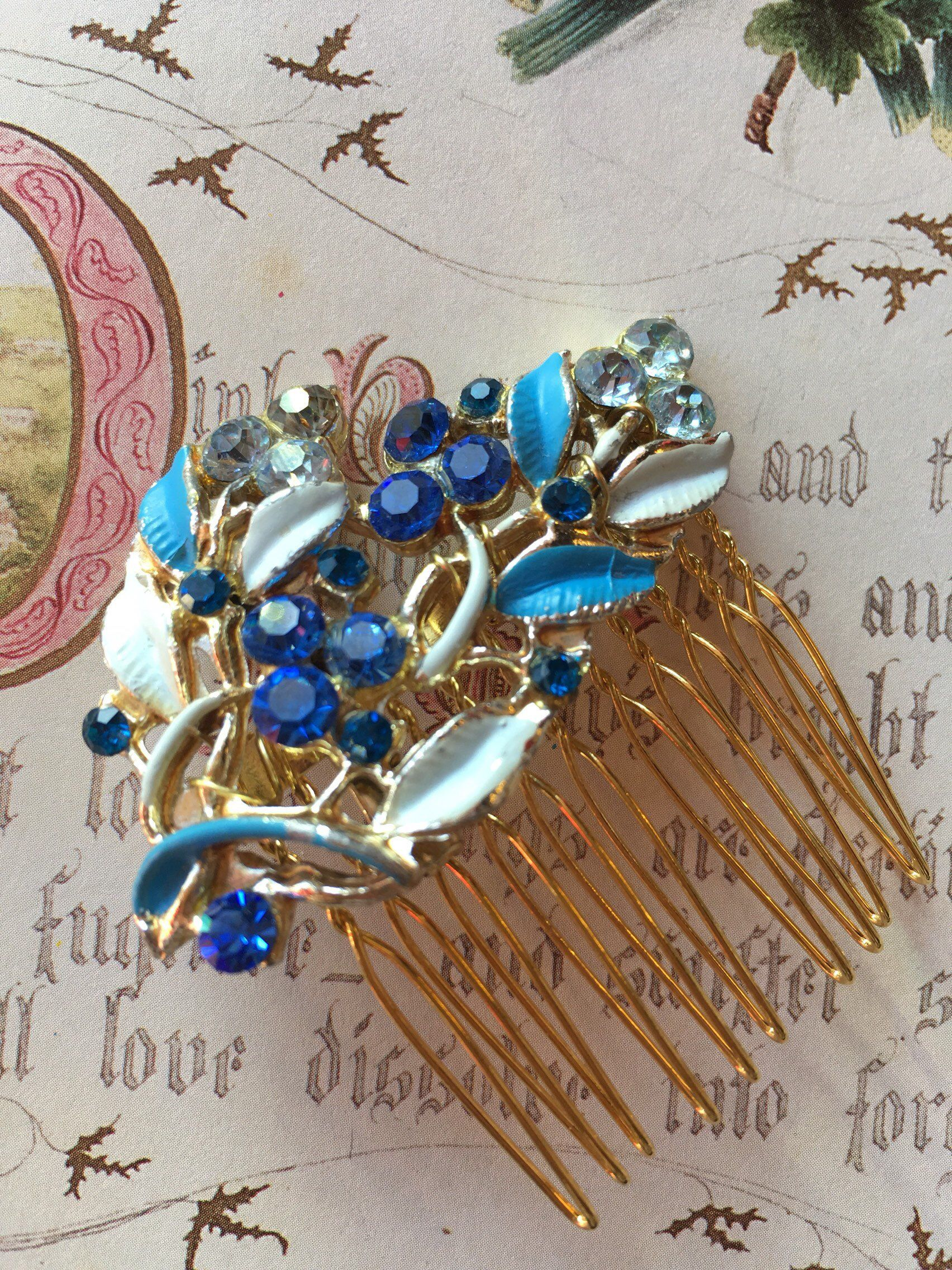 Excited To Share This Item From My Etsy Shop Vintage Blue Hair
