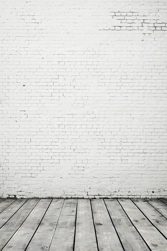 White Gray Brick Wall Wood Floor Photography Studio Backdrop Etsy In 2020 Backdrops Backgrounds Studio Backdrops Studio Backdrops Backgrounds