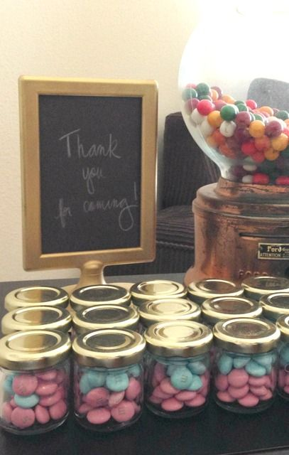 Gender Reveal Party Gender Reveal Party Ideas Photo 11 Of 11 Gender Reveal Party Favors Gender Reveal Party Food Reveal Parties