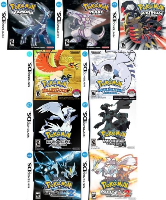 latest pokemon game for nds
