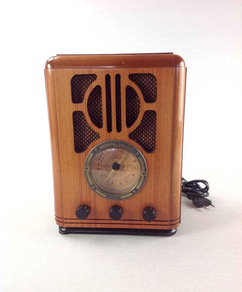 Palladium Nostalgie Radio 1934 Holz Vintage Audio Selten Antik Antique Old Radios Vintage Radio Radio