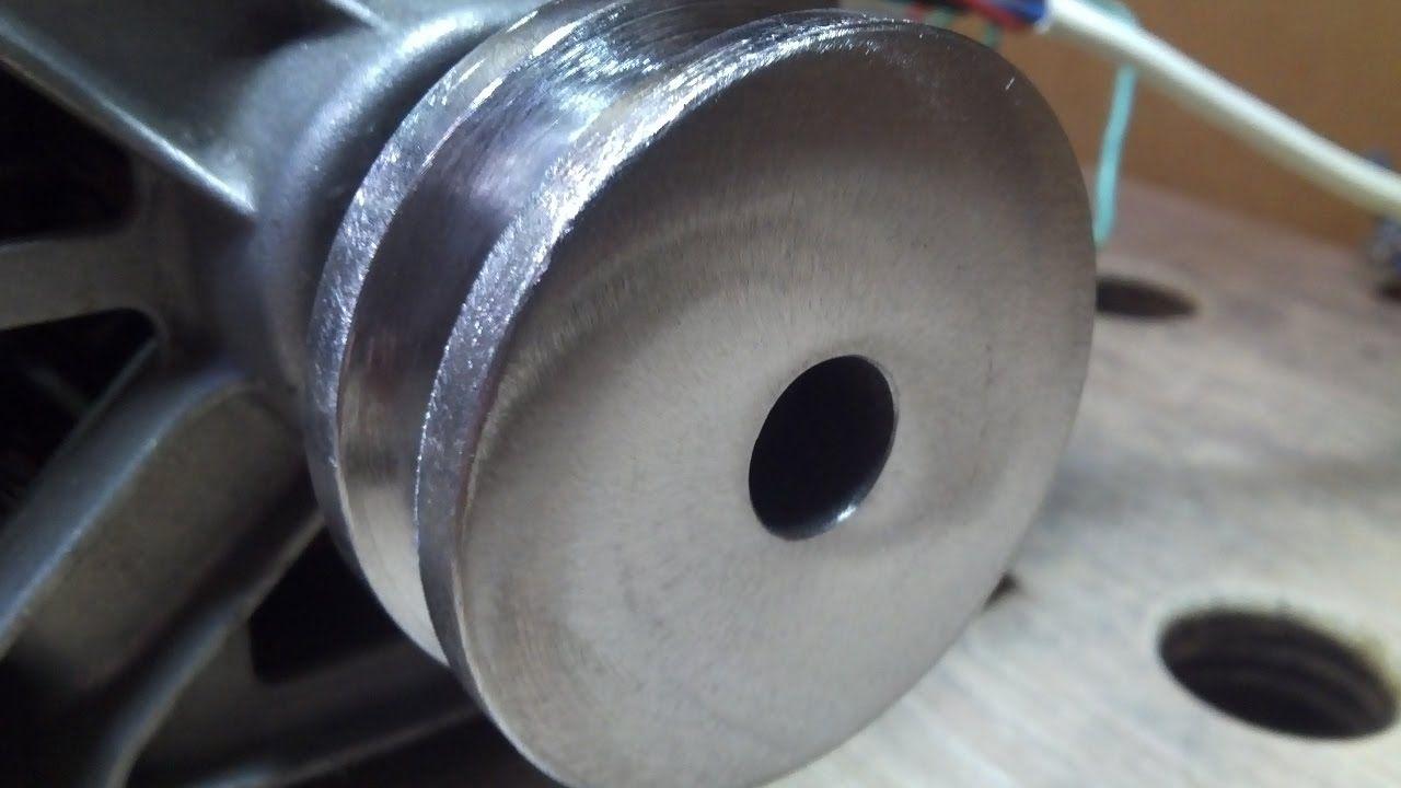 Как сделать шкив без токарного станка фото 963