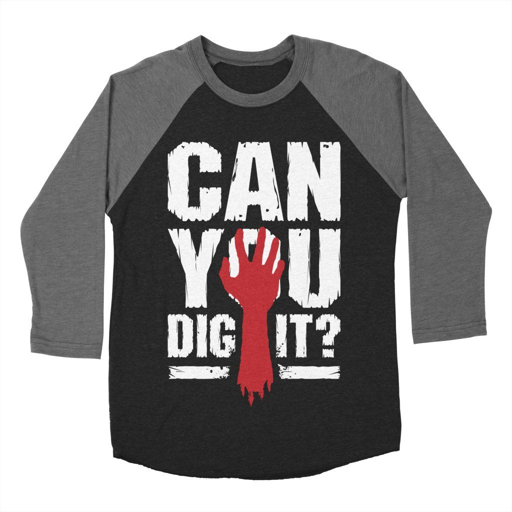 617a118b8c Can You Dig It? Funny Zombie Halloween Men's Longsleeve T-Shirt by Grandio  Design Artist Shop zombie, halloween, text, type, funny, humour, cool,  hand, ...