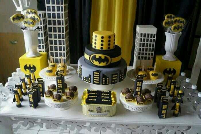 Pin by Jules Skinka on Birthday party ideas Pinterest Batman