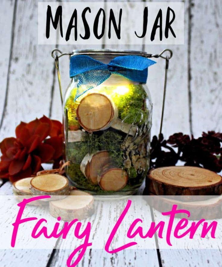 Mason Jar Fairy Light Mason Jar Craft images