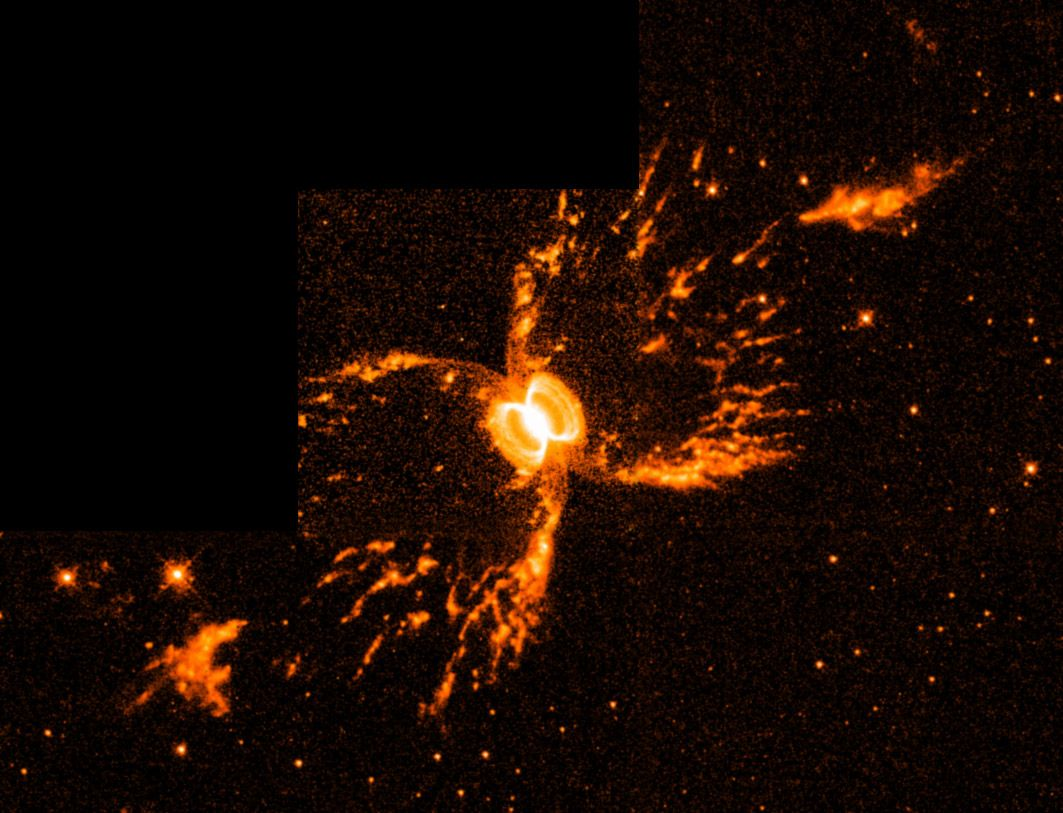 Southern Crab Nebula This Is Actually A Pair Of Stars
