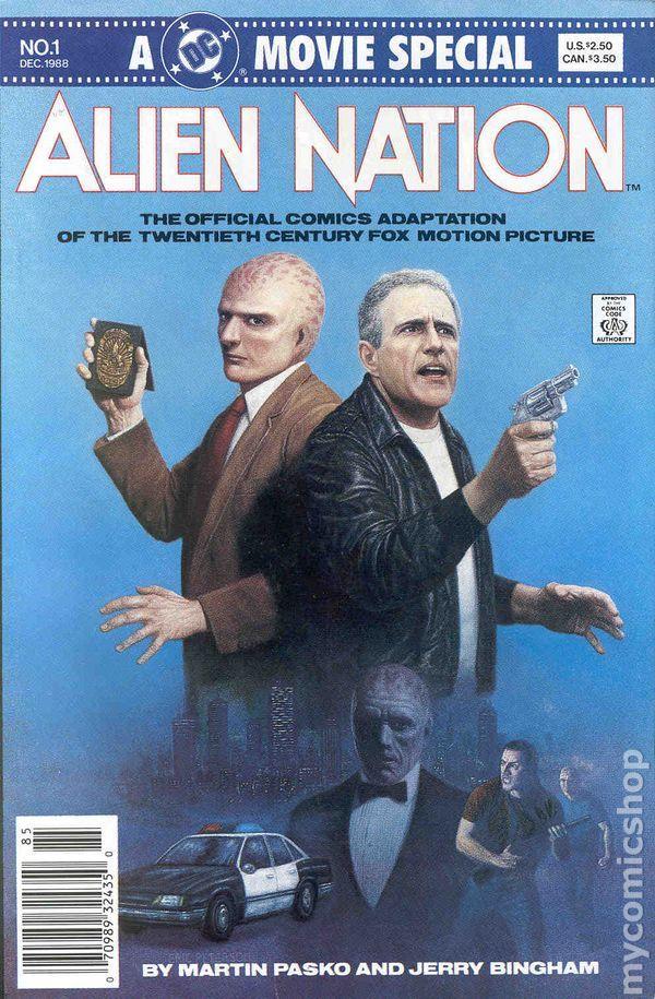 Alien Nation (1988 Movie) 1 Dark Horse Comic Book cover Modern Age
