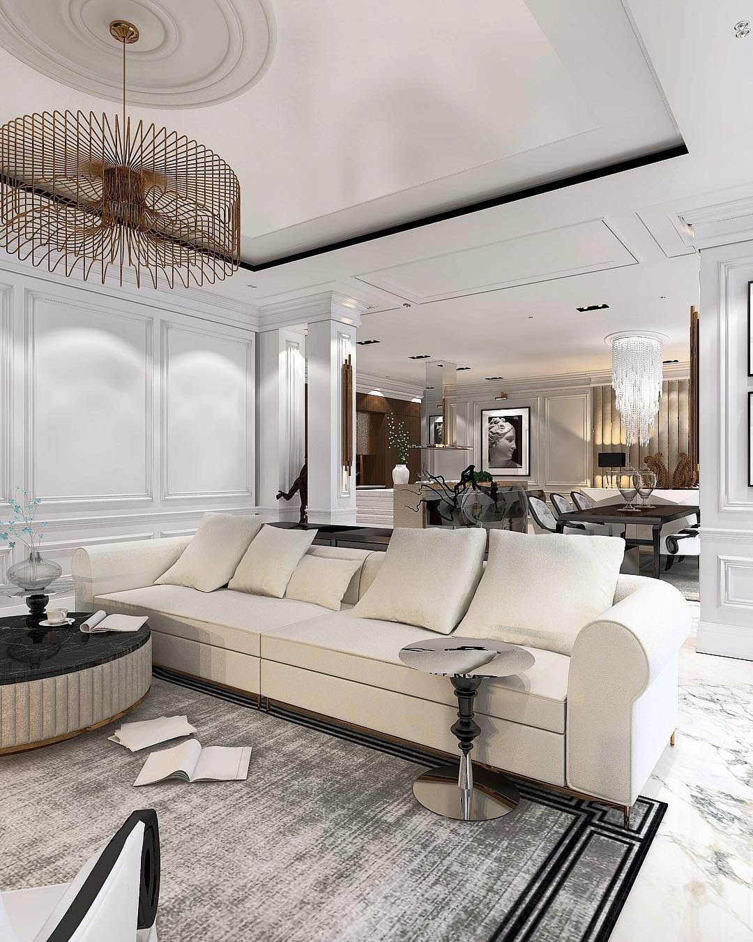 Glamorous living room ideas constantin frolov interior design
