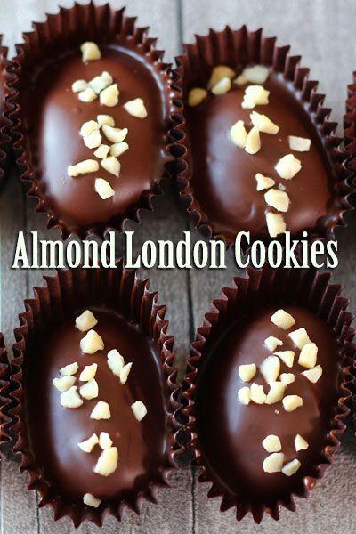 Almond London Cookies Recipe El Mundo Eats Resep Makanan Manis Kue Kering Mentega Ide Makanan