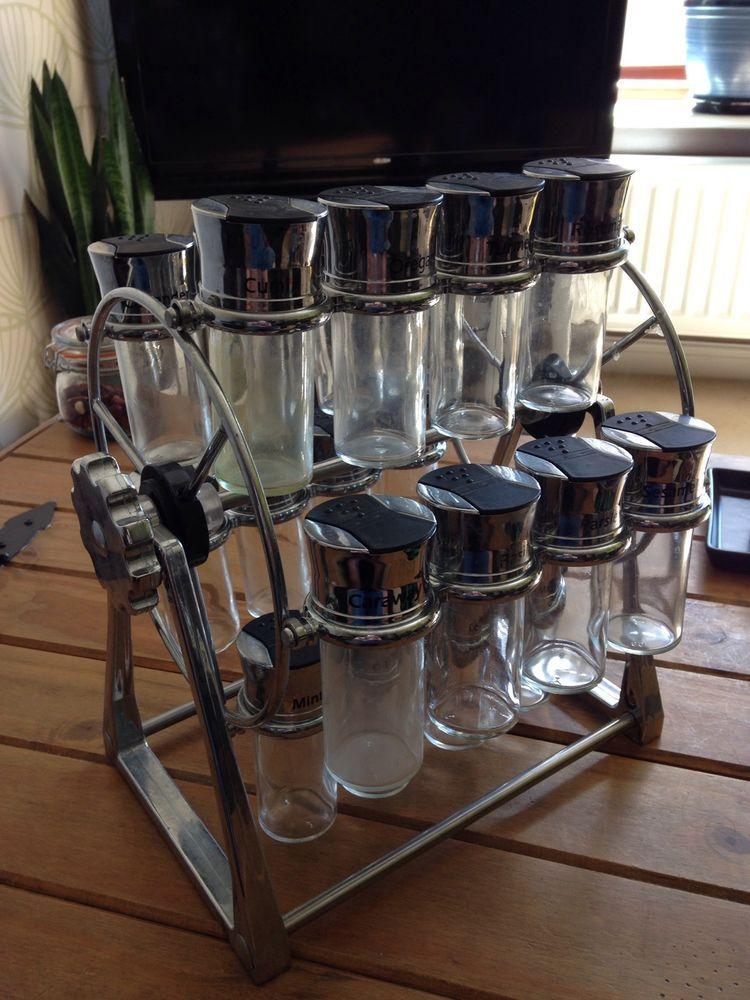 olde thompson 20 jar ferris wheel spice