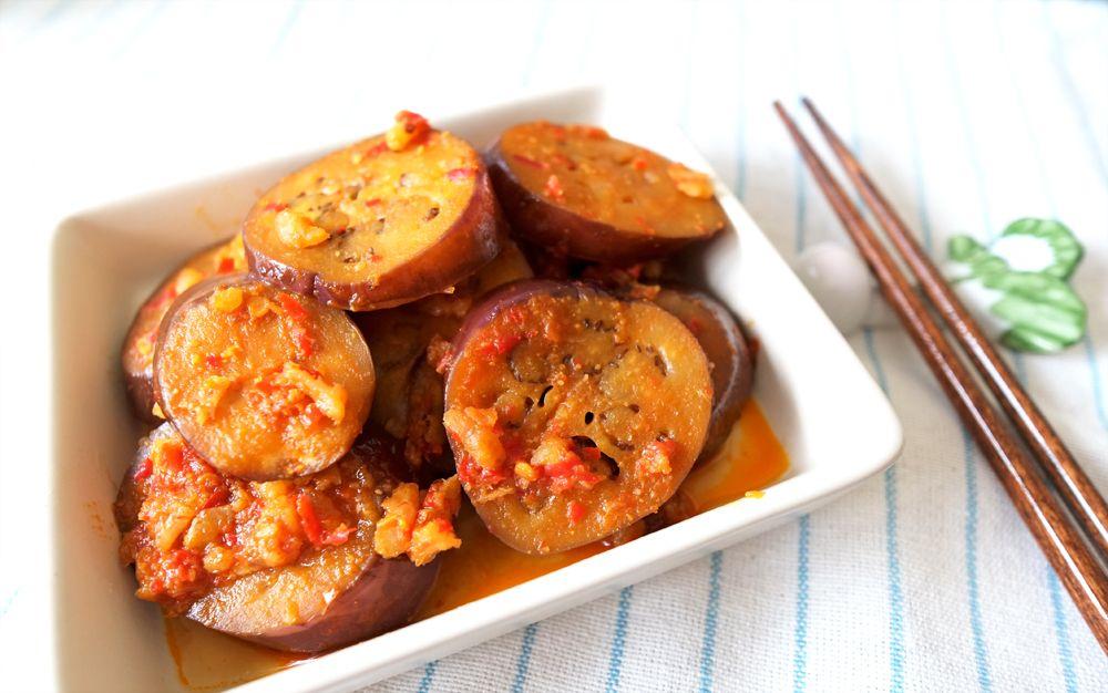 20-minute spicy Sambal Eggplant  #kitchenmissus
