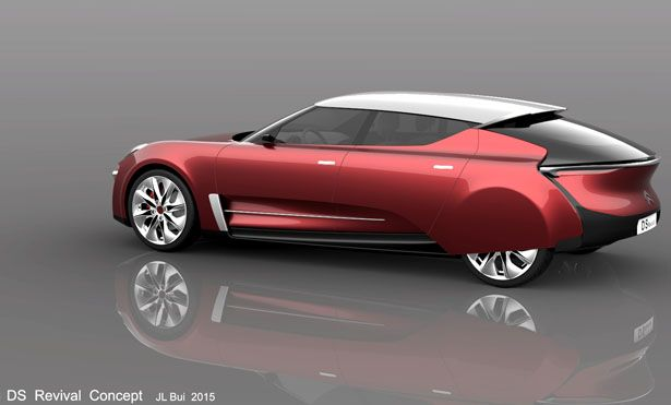 Citroen Ds Revival Concept Car By Jean Louis Bui Citroen Ds Citroen Concept Cars