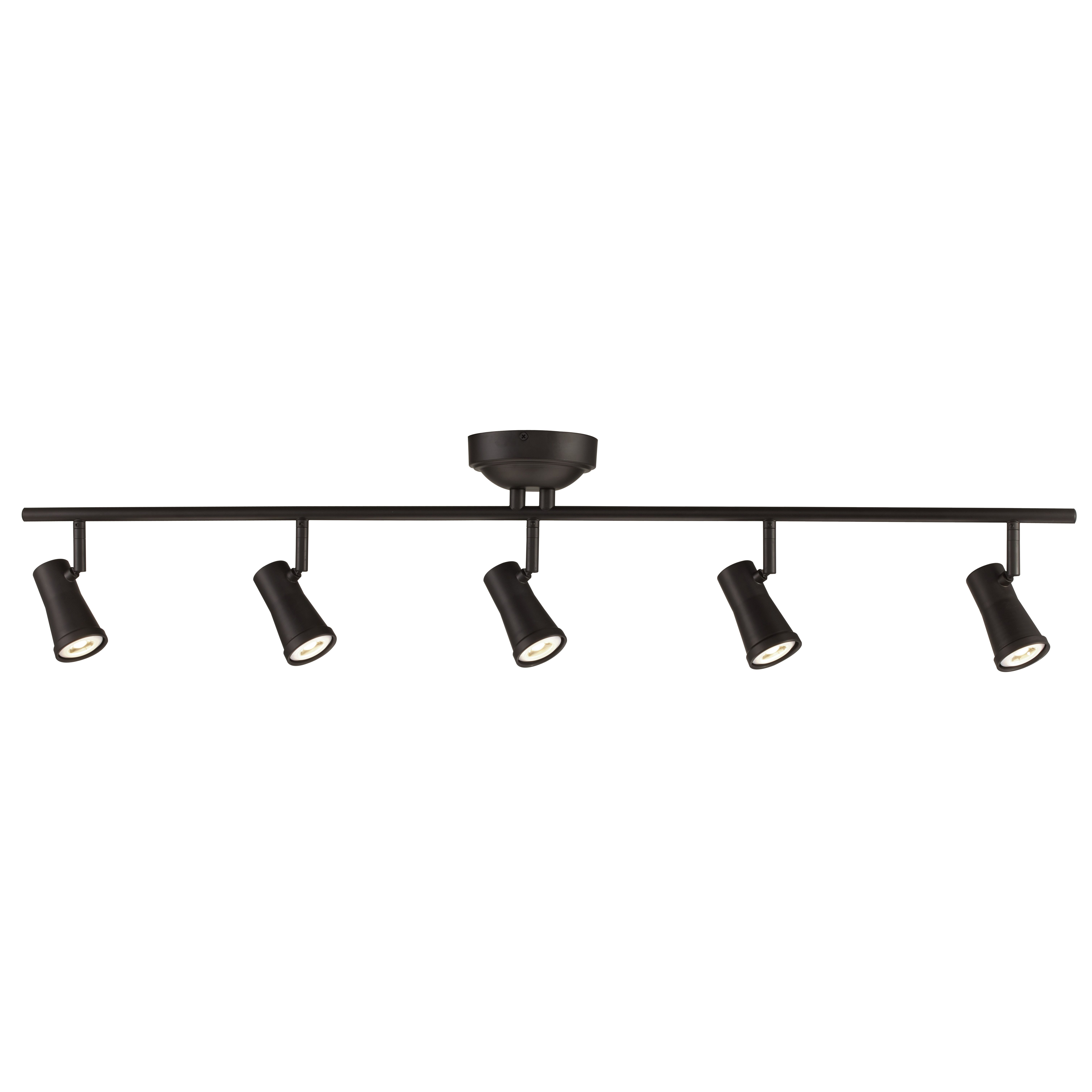 Robbins 5 light track kit lights globe lights and design projects robbins oil rubbed bronze five light led track light trans globe lighting track aloadofball Images