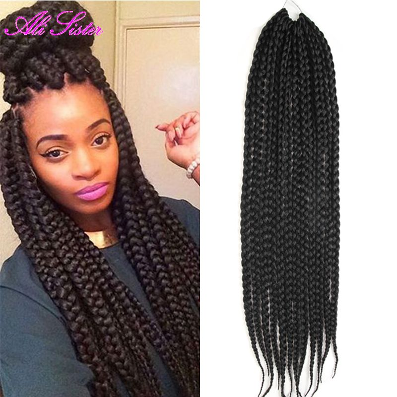 Find more bulk hair information about african box braids hair hair extensions for black hair on sale at reasonable prices buy african box braids hair crochet hair extensions expression braiding hair synthetic dreads pmusecretfo Choice Image