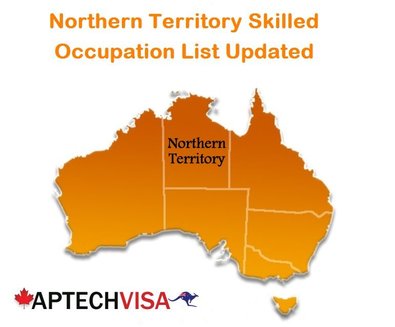 Northern Territory updated its Skilled Occupational list on April 12