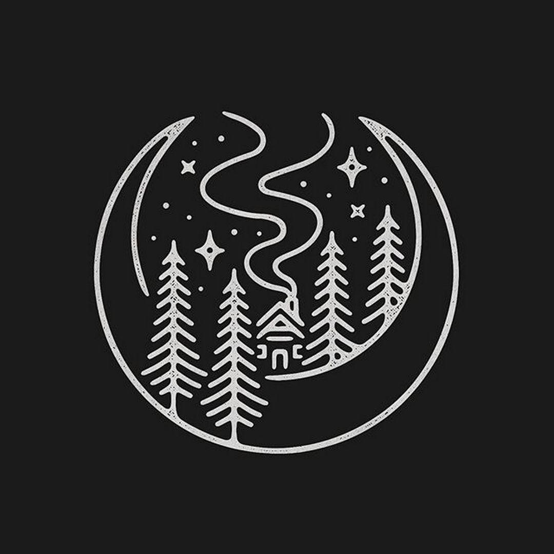 Aurora Powertrains Enjoy the Silence of Nature Art logo