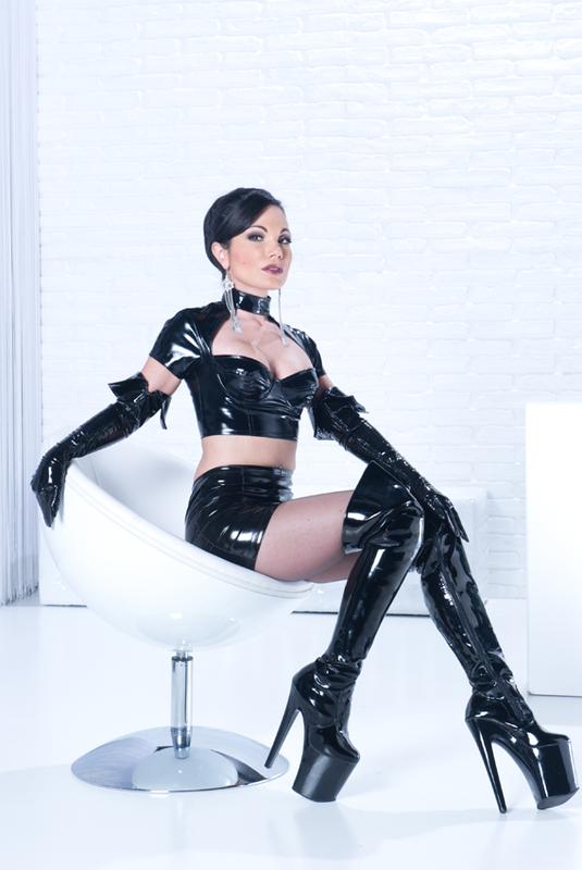 bizarre sexy leather ladies