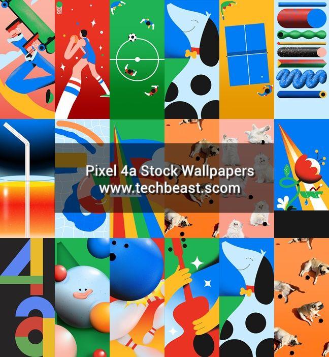 Download Pixel 4a Stock Wallpapers | TechBeasts