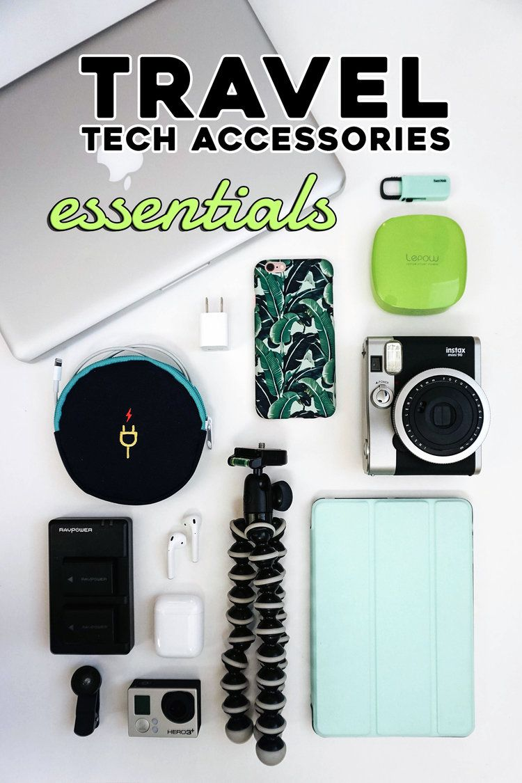 Must have travel tech accessories for your computer, camera, tablet, and smartphone. Keep your…