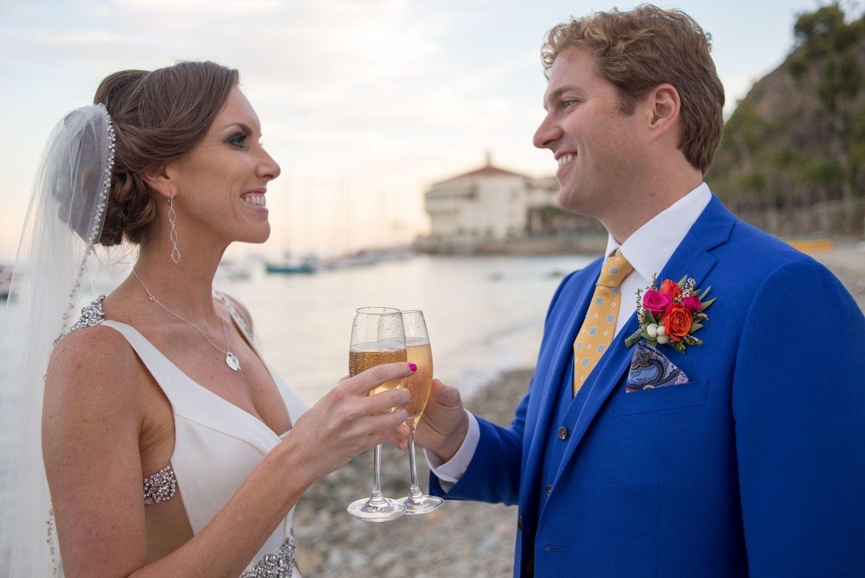 Newlyweds Share a Toast Photography Strand Photo Read