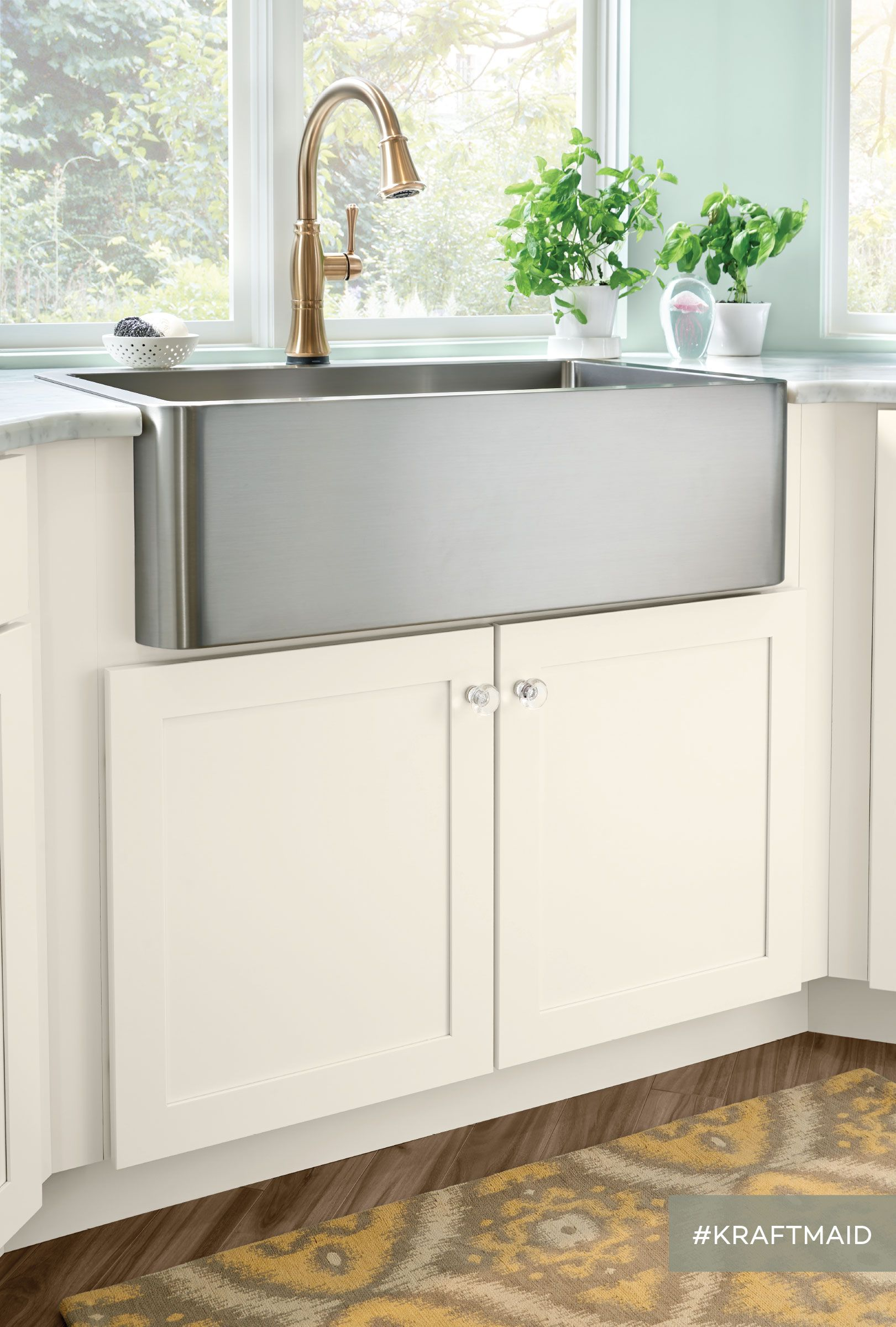 An Apron Front Sink Base is just one example of the many kitchen