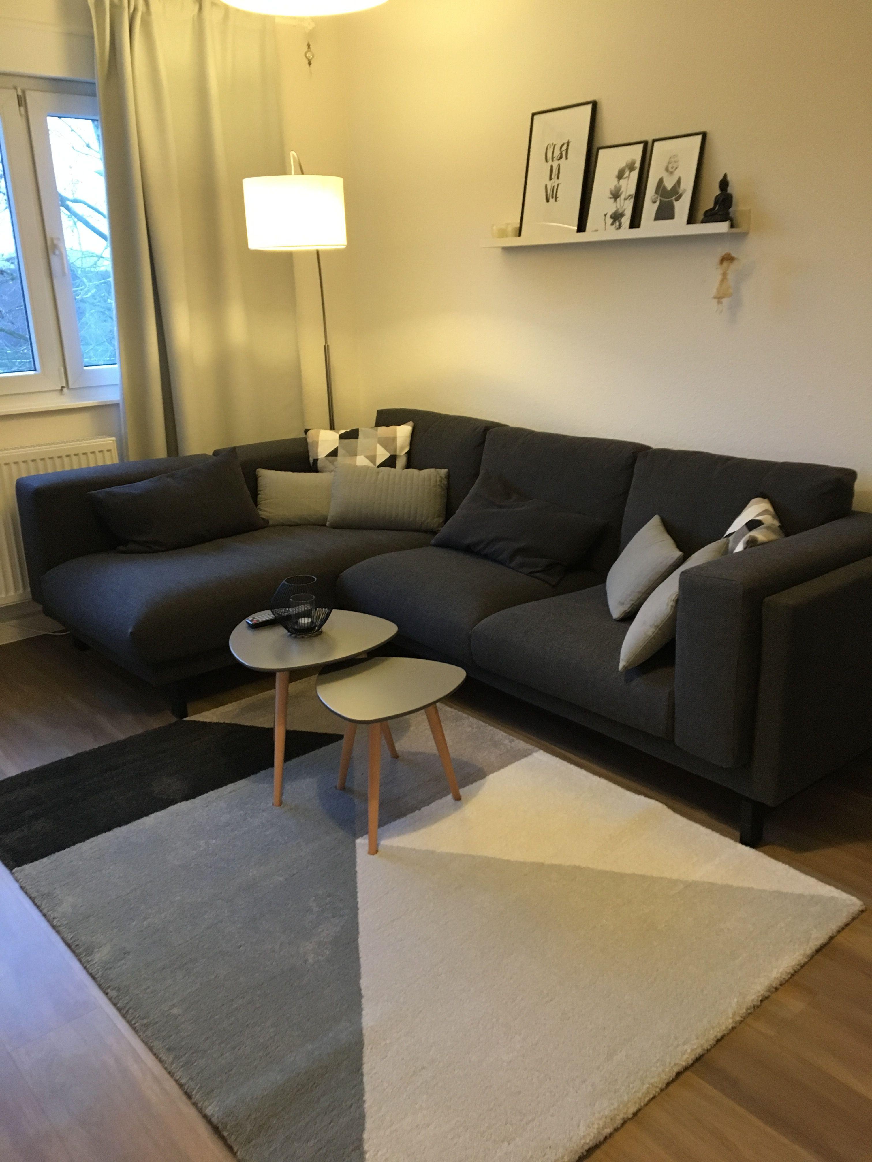 Nockeby Junique Ikea Grau Wohnzimmer Wohnzimmerideen