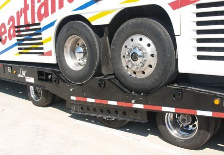 Sweet ~~~~~> Years ; Years ; Years ; Long Over - Due Design and Fabrication; Also the Rollin' Condominium's Coach; are just About impossible ; Even with great Under-Reach Wreckers ; Especially in dangerous location$ !!!!