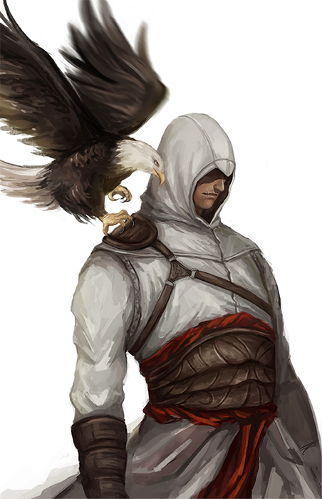 Ac1 Altair Ibn La Ahad By Poorbird On Deviantart Assassin S Creed Wallpaper Assassins Creed Art Assassin S Creed